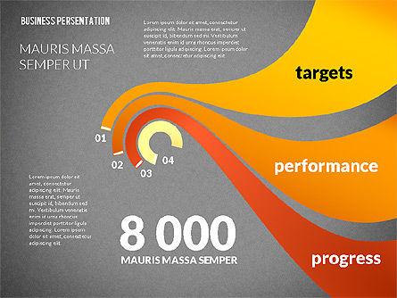 Business Progress Presentation Template, Slide 9, 02597, Presentation Templates — PoweredTemplate.com