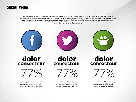 Social Media Infographics Template Slide 4