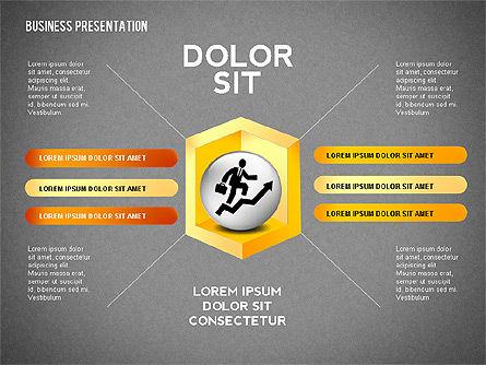 Company Presentation Concept, Slide 11, 02599, Presentation Templates — PoweredTemplate.com