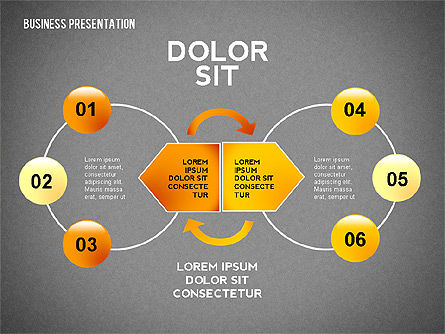 Company Presentation Concept, Slide 12, 02599, Presentation Templates — PoweredTemplate.com