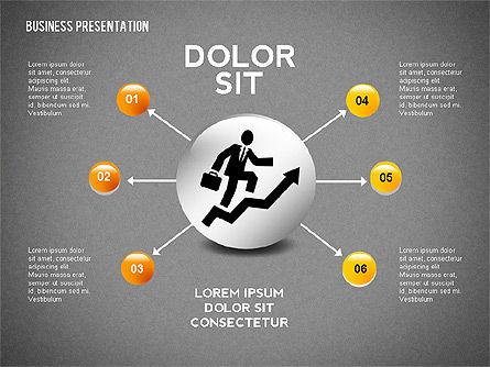 Company Presentation Concept, Slide 13, 02599, Presentation Templates — PoweredTemplate.com