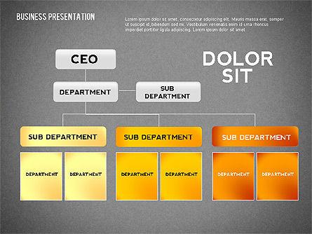Company Presentation Concept, Slide 14, 02599, Presentation Templates — PoweredTemplate.com