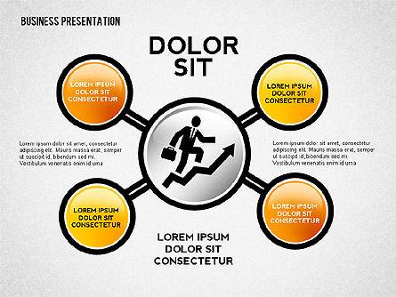 Company Presentation Concept, Slide 2, 02599, Presentation Templates — PoweredTemplate.com