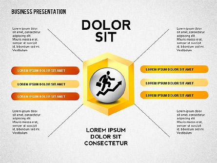 Company Presentation Concept, Slide 3, 02599, Presentation Templates — PoweredTemplate.com