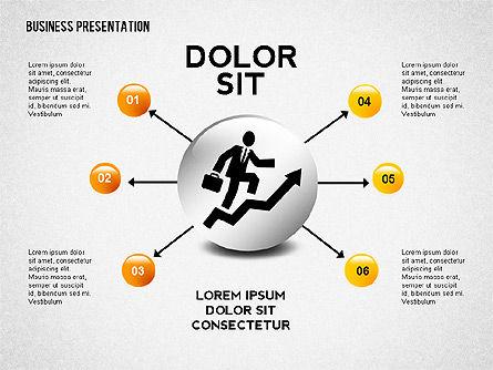 Company Presentation Concept, Slide 5, 02599, Presentation Templates — PoweredTemplate.com