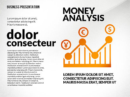 Financial Presentation with Shapes, Slide 2, 02607, Presentation Templates — PoweredTemplate.com
