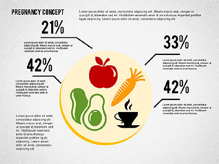 Pregnancy Presentation Concept, Slide 7, 02608, Medical Diagrams and Charts — PoweredTemplate.com