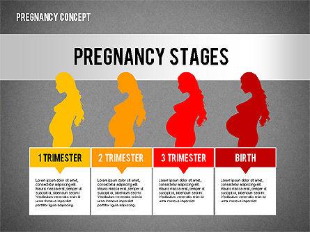 Pregnancy Presentation Concept, Slide 9, 02608, Medical Diagrams and Charts — PoweredTemplate.com