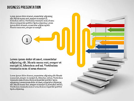 Presentation Templates: Opportunity Door Presentation Template #02610
