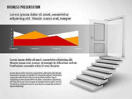 Opportunity Door Presentation Template, Slide 2, 02610, Presentation Templates — PoweredTemplate.com