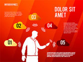 Infographics with Silhouettes#13