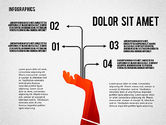 Infographics with Silhouettes#4