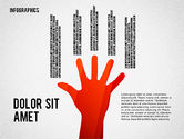 Infographics with Silhouettes#8