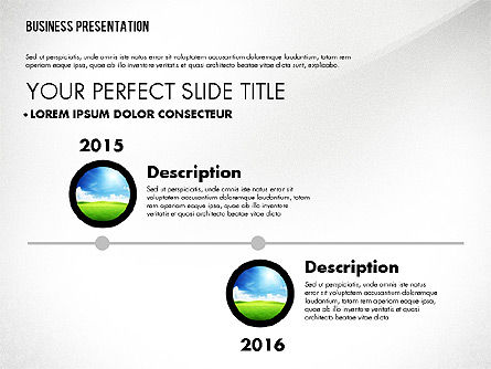 Graceful Presentation Template, Slide 4, 02615, Presentation Templates — PoweredTemplate.com