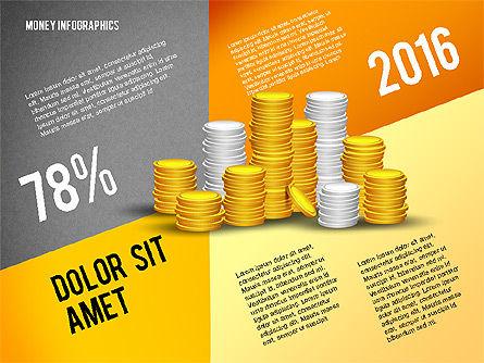 Money Infographics, Slide 16, 02616, Infographics — PoweredTemplate.com