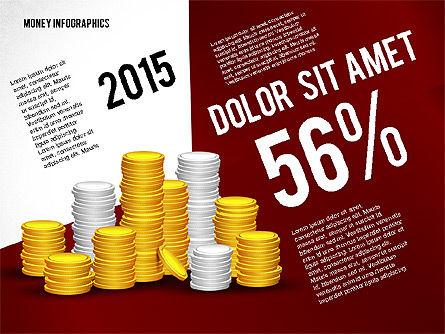 Money Infographics, Slide 2, 02616, Infographics — PoweredTemplate.com