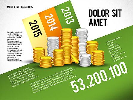 Money Infographics, Slide 3, 02616, Infographics — PoweredTemplate.com