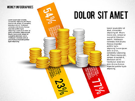 Money Infographics, Slide 4, 02616, Infographics — PoweredTemplate.com