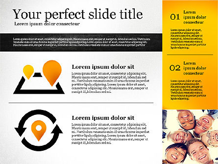 Presentation Template with Shapes, Slide 3, 02618, Presentation Templates — PoweredTemplate.com