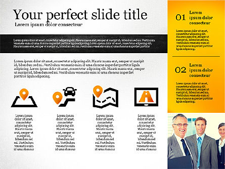 Presentation Template with Shapes, Slide 4, 02618, Presentation Templates — PoweredTemplate.com