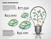Presentation Templates: Business Growth Concept Presentation Template  #02620