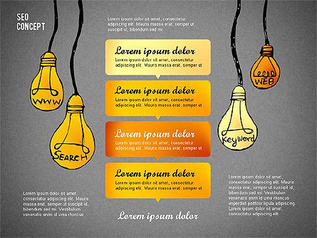 SEO Report Concept, Slide 11, 02624, Presentation Templates — PoweredTemplate.com