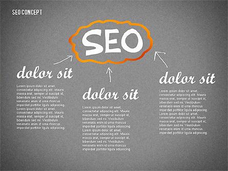 SEO Report Concept, Slide 13, 02624, Presentation Templates — PoweredTemplate.com