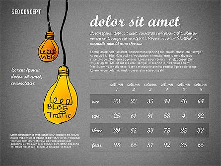 SEO Report Concept, Slide 14, 02624, Presentation Templates — PoweredTemplate.com