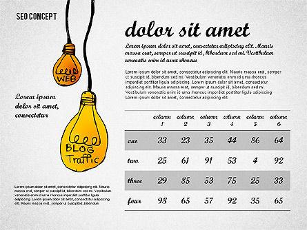 SEO Report Concept, Slide 6, 02624, Presentation Templates — PoweredTemplate.com
