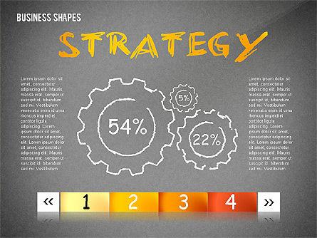 Marketing Steps Strategy Presentation Template, Slide 12, 02625, Presentation Templates — PoweredTemplate.com