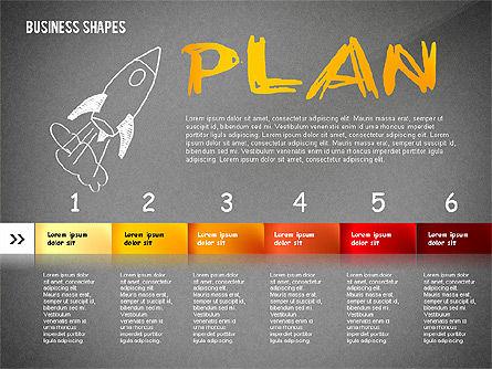 Marketing Steps Strategy Presentation Template, Slide 15, 02625, Presentation Templates — PoweredTemplate.com