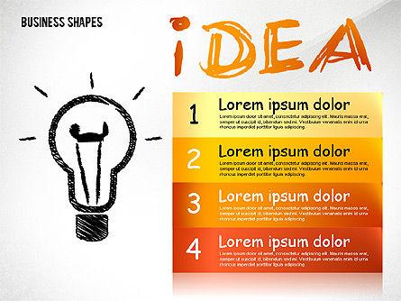 Marketing Steps Strategy Presentation Template, Slide 6, 02625, Presentation Templates — PoweredTemplate.com