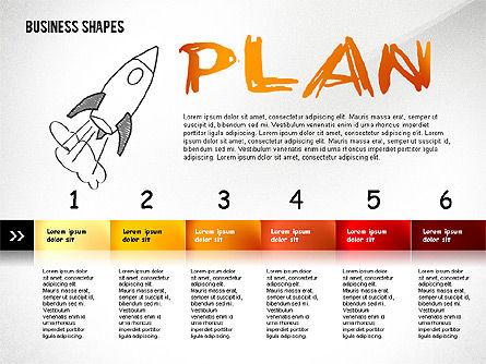 Marketing Steps Strategy Presentation Template, Slide 7, 02625, Presentation Templates — PoweredTemplate.com