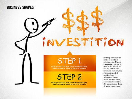 Marketing Steps Strategy Presentation Template, Slide 8, 02625, Presentation Templates — PoweredTemplate.com
