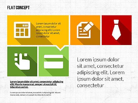 Flat Design Presentation Template, Slide 2, 02626, Presentation Templates — PoweredTemplate.com