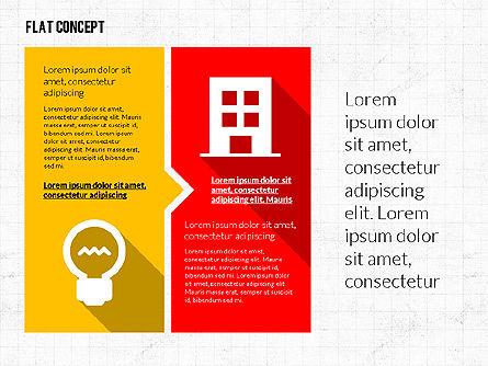 Flat Design Presentation Template, Slide 3, 02626, Presentation Templates — PoweredTemplate.com