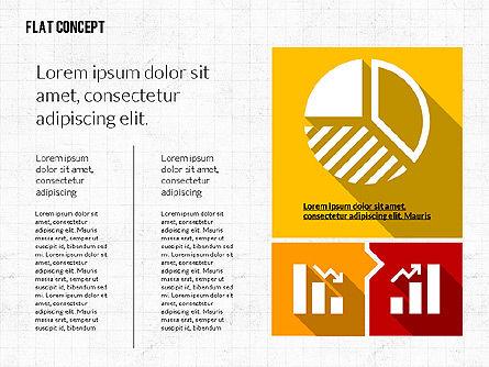 Flat Design Presentation Template, Slide 4, 02626, Presentation Templates — PoweredTemplate.com