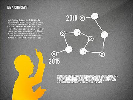 Generating Idea Presentation Concept, Slide 11, 02628, Presentation Templates — PoweredTemplate.com