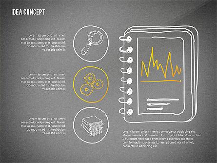 Generating Idea Presentation Concept, Slide 14, 02628, Presentation Templates — PoweredTemplate.com