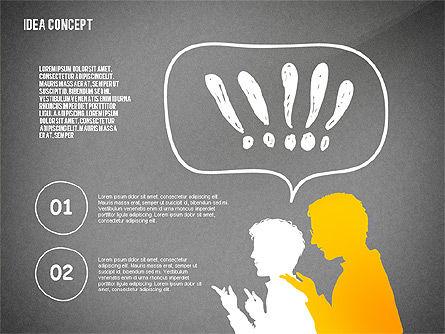 Generating Idea Presentation Concept, Slide 15, 02628, Presentation Templates — PoweredTemplate.com