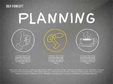 Generating Idea Presentation Concept, Slide 16, 02628, Presentation Templates — PoweredTemplate.com