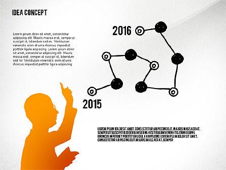 Generating Idea Presentation Concept, Slide 3, 02628, Presentation Templates — PoweredTemplate.com
