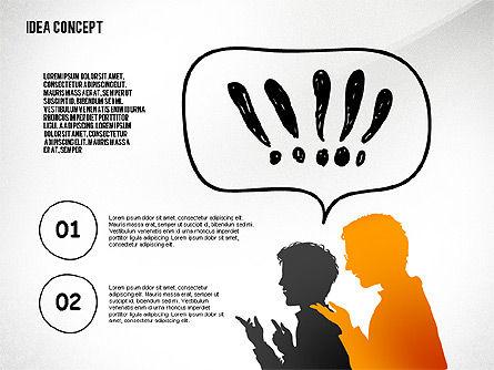 Generating Idea Presentation Concept, Slide 7, 02628, Presentation Templates — PoweredTemplate.com