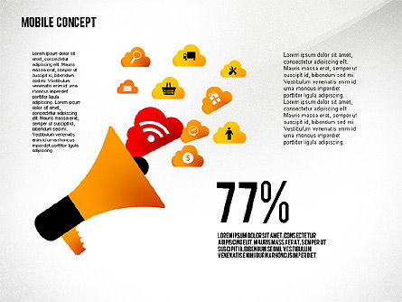 Mobile Services Presentation Concept, Slide 2, 02629, Presentation Templates — PoweredTemplate.com