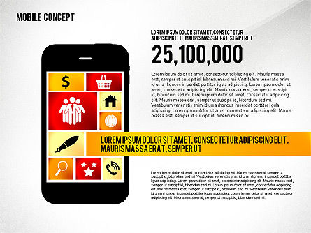 Mobile Services Presentation Concept, Slide 4, 02629, Presentation Templates — PoweredTemplate.com