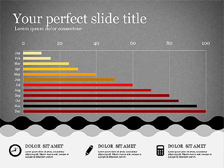 Presentation Template in Flat Design, Slide 10, 02630, Presentation Templates — PoweredTemplate.com