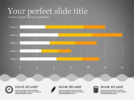 Presentation Template in Flat Design, Slide 11, 02630, Presentation Templates — PoweredTemplate.com