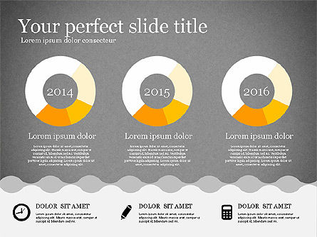 Presentation Template in Flat Design, Slide 13, 02630, Presentation Templates — PoweredTemplate.com