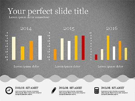 Presentation Template in Flat Design, Slide 15, 02630, Presentation Templates — PoweredTemplate.com