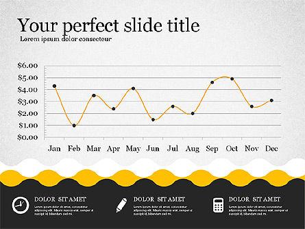 Presentation Template in Flat Design, Slide 8, 02630, Presentation Templates — PoweredTemplate.com